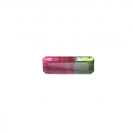 Turmalin Rechteck facettiert ca. 16,5x6 mm