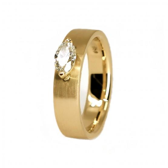Hochwertiger Diamantnavettring