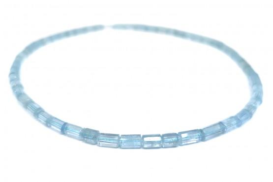Aquamarinkette Kristalle ca. 5 mm
