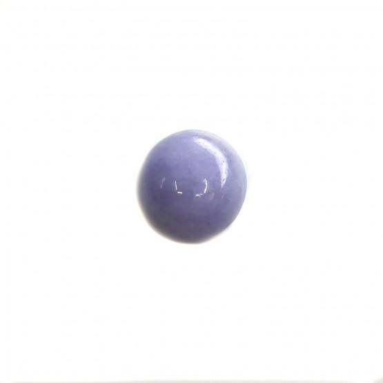 Lavendeljade ovaler Cabochon ca. 12x11 mm