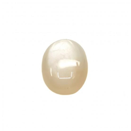 Mondstein ovaler Cabochon 23x18 mm