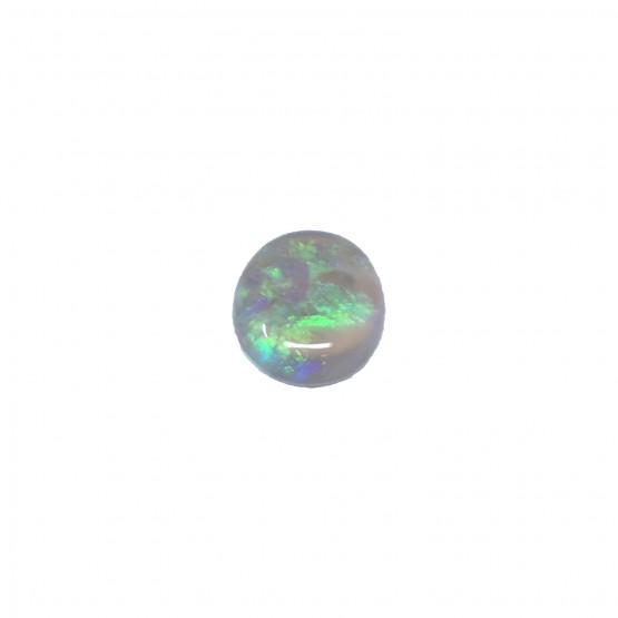 Weißer Opal ovaler Cabochon ca. 11x9 mm