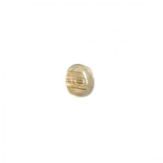 Rutilquarz ovaler Cabochon ca. 12x10 mm