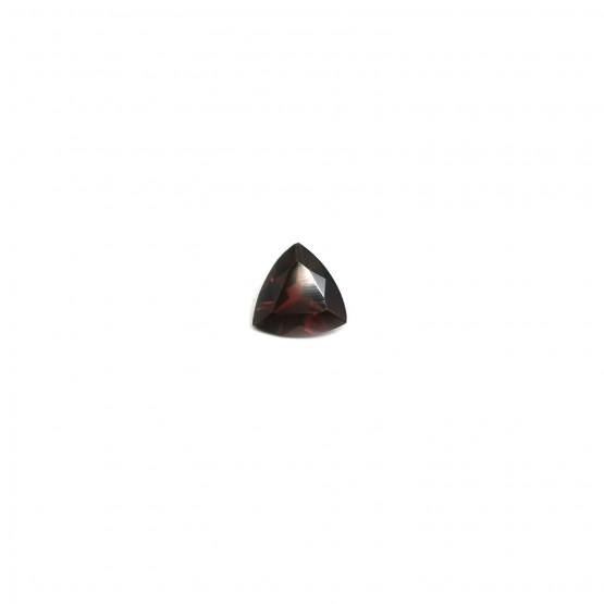 Granat dreieck facettiert ca. 7 mm