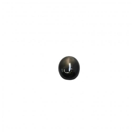 Sternsaphir ovaler Cabochon ca. 8x6 mm