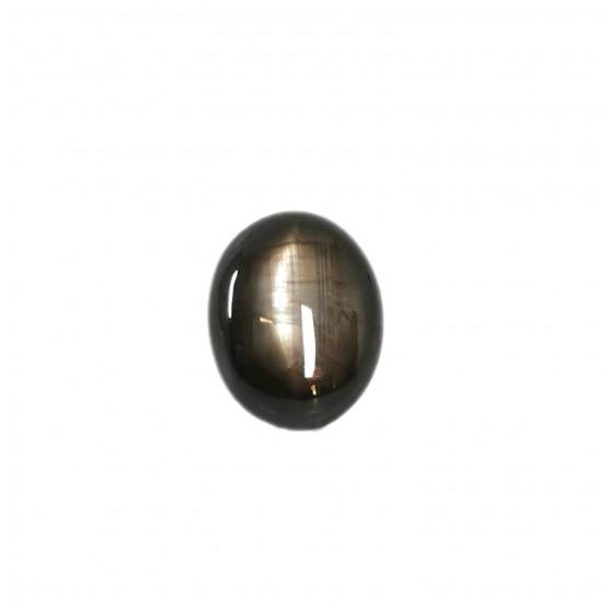 Sternsaphir ovaler Cabochon ca. 13x10 mm