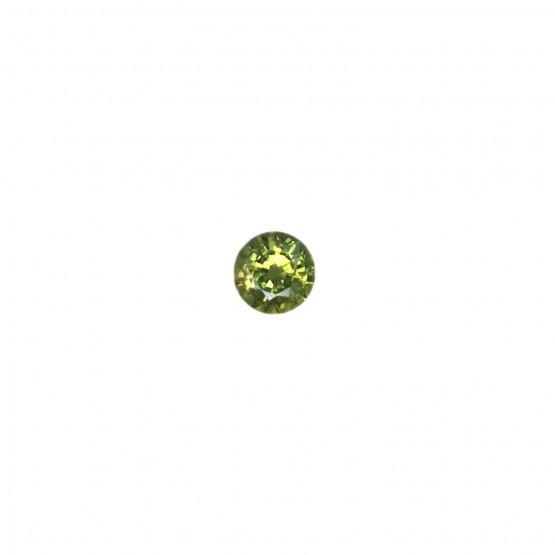 Saphir rund facettiert ca. 5 mm
