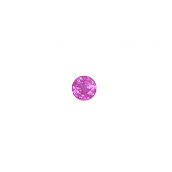 Saphir rund facettiert ca. 5,2 mm