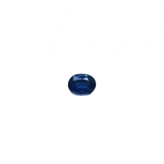 Saphir oval facettiert ca. 6x5 mm