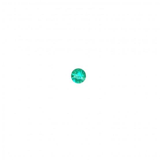 Smaragd rund facettiert ca. 4,4 mm