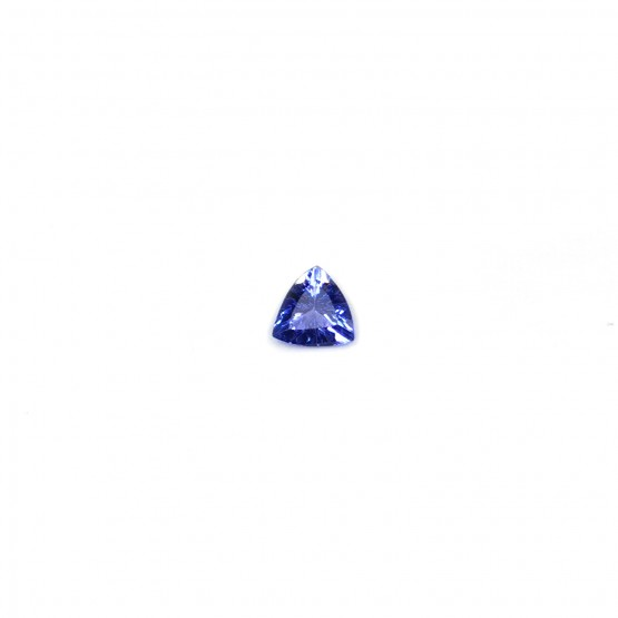 Tansanit Triangel facettiert 7 mm