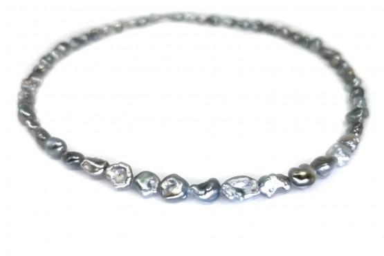 Tahiti-Keshi Perlenkette ca. 5-7 mm